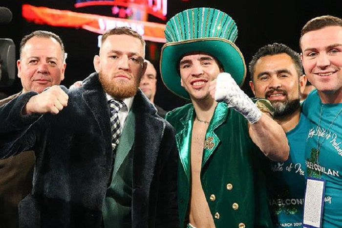 Boxing- Irish Michael Conlan gets a Knockout Victory on St. Patrick's weekend - Irish
