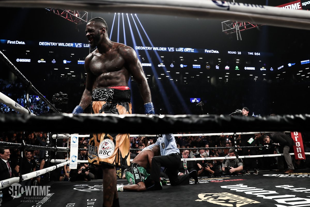 Boxing: Deontay Wilder knocks Luis Ortiz out cold in the 10th round (Video) - Wilder