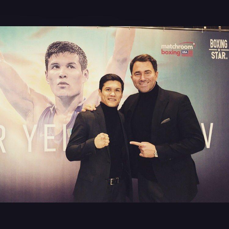 Boxing: Daniyar Yeleussinov signs with Matchroom - Yeleussinov