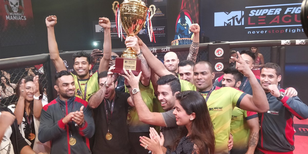 Super Fight League 2018: UP Nawabs crowned champions, defeats Delhi Heroes in the final - Super Fight League