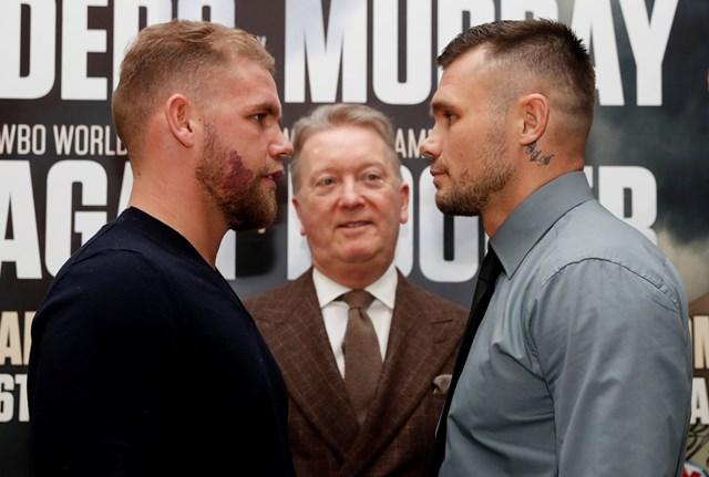 Boxing: Billy Joe Saunders vs Martin Murray postponed due to Injury - Saunders