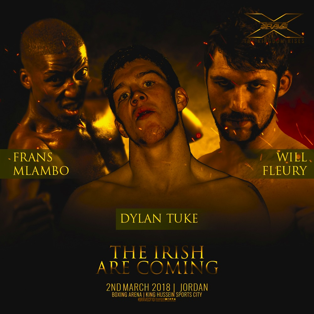 Mlambo warns roster ahead of Brave 10: 'The Irish are coming' -