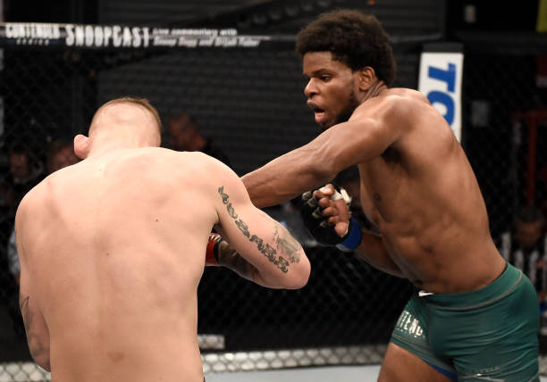 Kennedy Nzechukwu forced to withdraw from title fight at Brave CF -