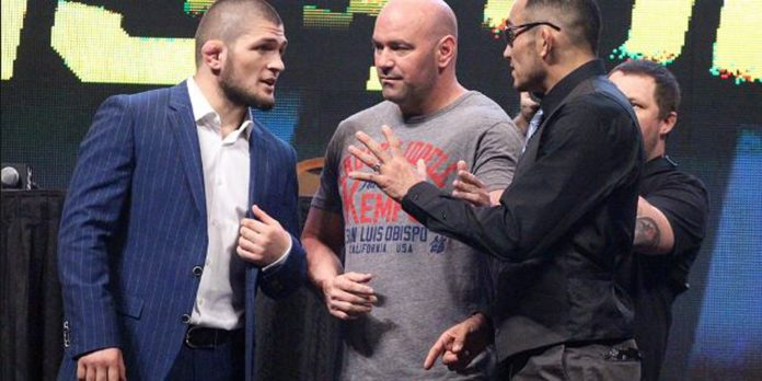 UFC: Khabib Nurmagomedov claims he will choke out Tony Ferguson at UFC 223 - Khabib Nurmagomedov