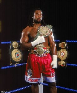 Boxing: Lennox Lewis calls out SHOWTIME - Showtime