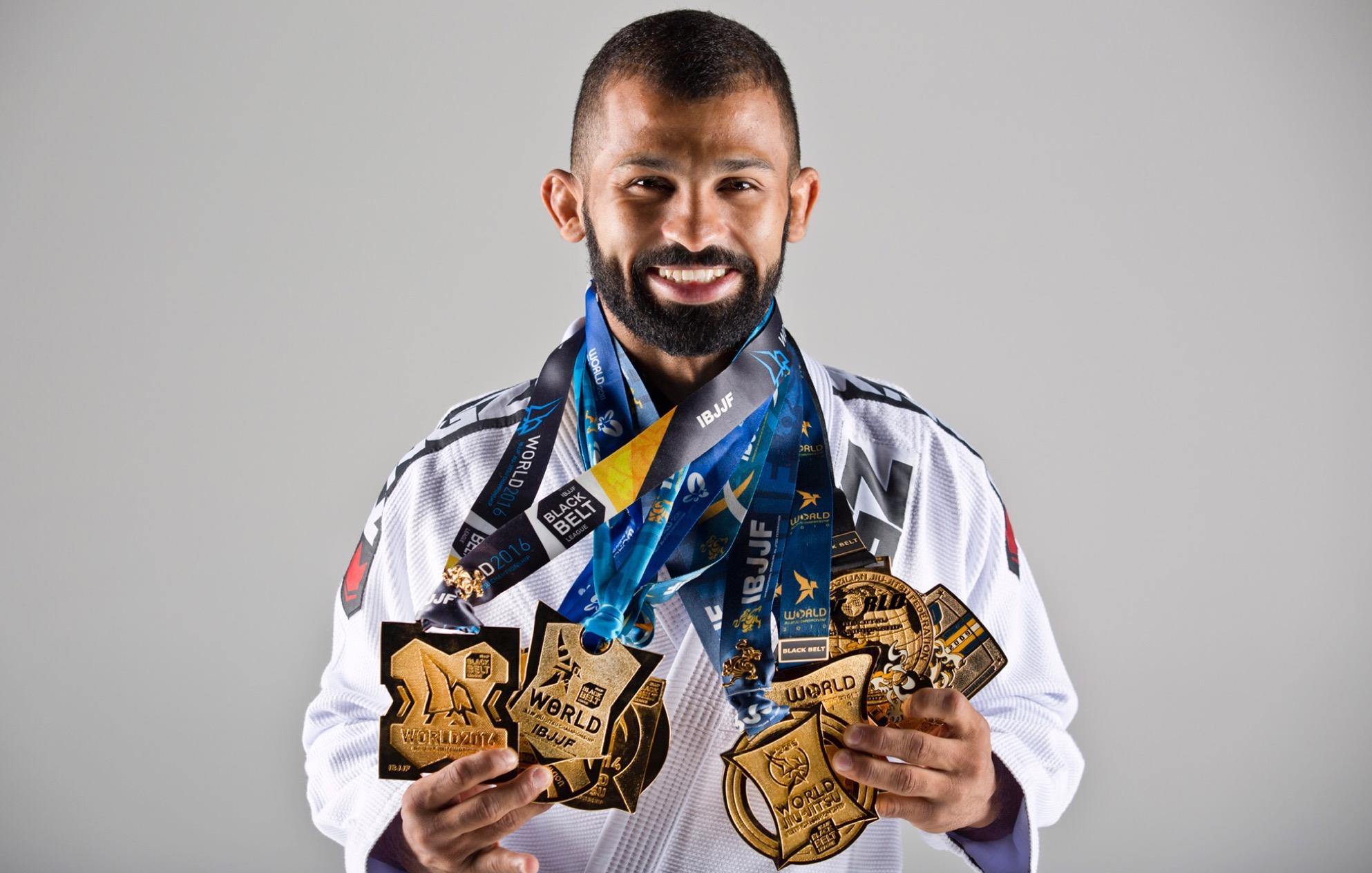 Jiu-jitsu legend Bruno Malfacine signs with Brave Combat Federation -