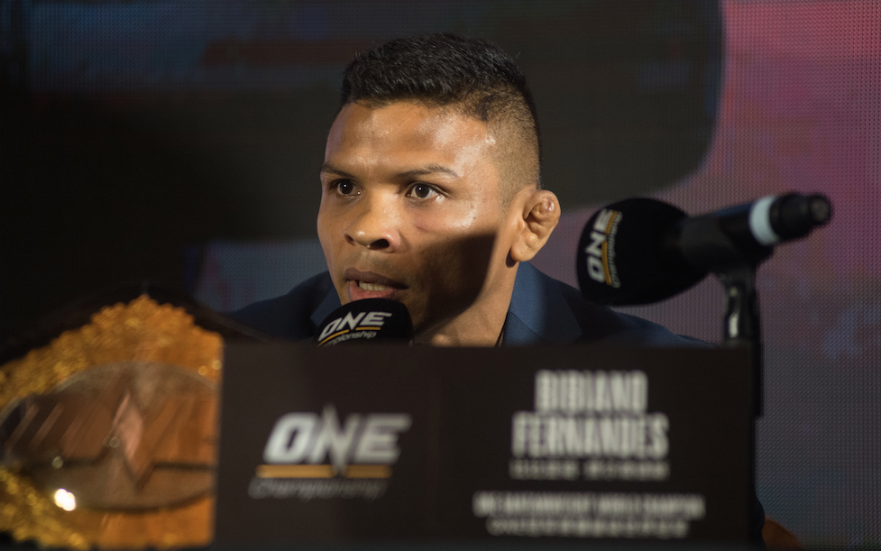 BIBIANO FERNANDES AND MARTIN NGUYEN QUOTES AHEAD OF ONE: IRON WILL IN BANGKOK -