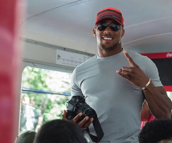 Photos: The Anthony Joshua Story -