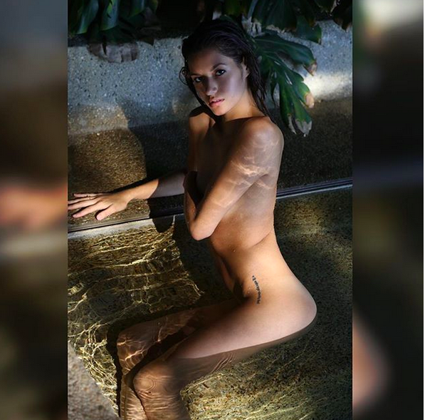 UFC Octagon girl Vanessa Hanson's photos fry the Internet -