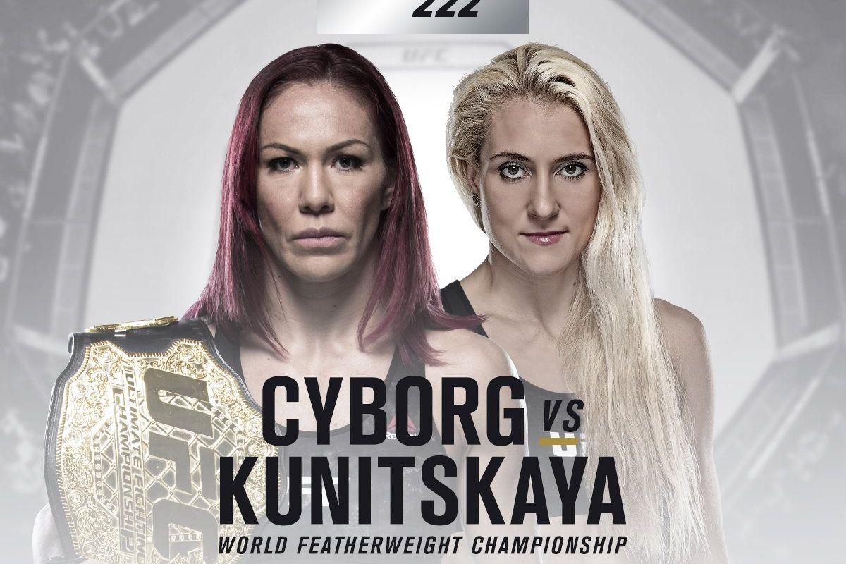 UFC 222: FULL RESULTS - ufc 222