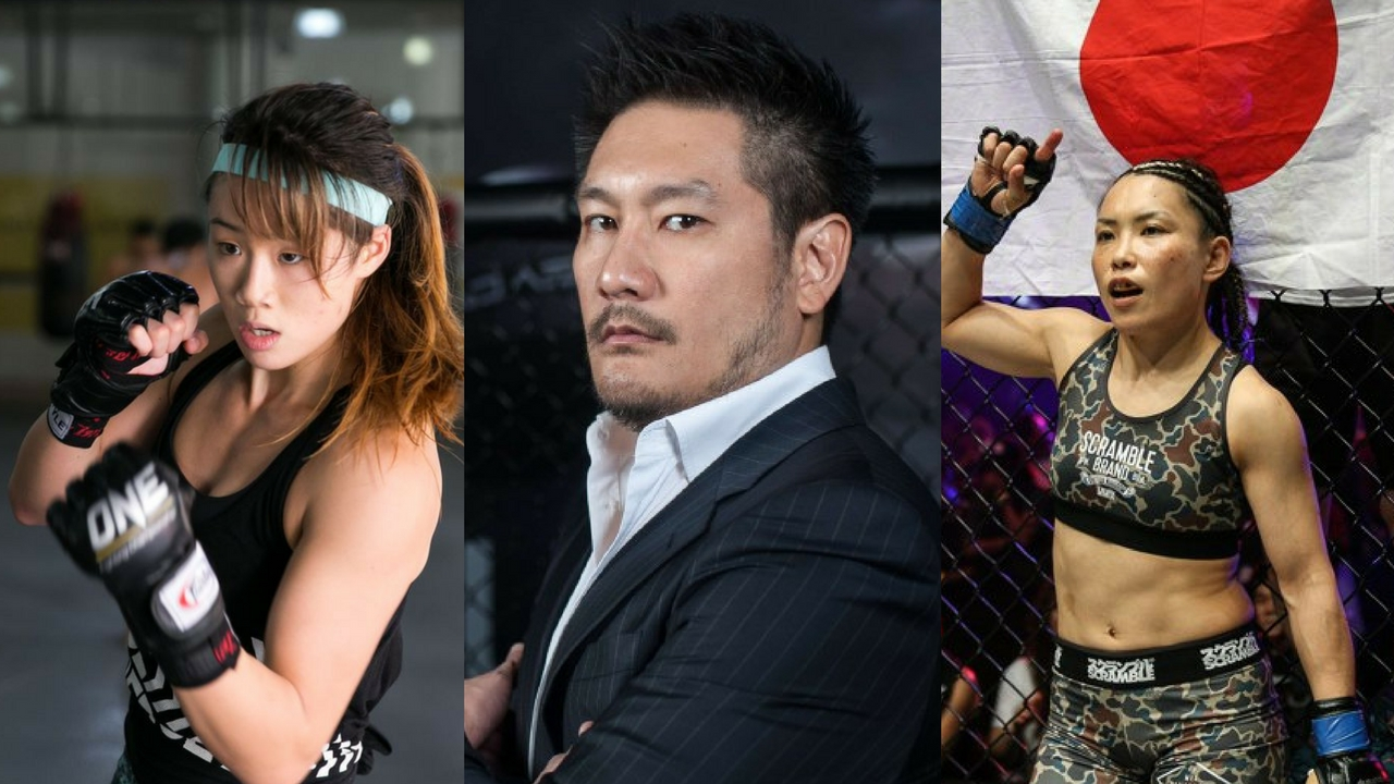 ONE: Unstoppable Dreams Global Media with Chatri Sityodtong, Angela Lee and  Mei Yamaguchi -