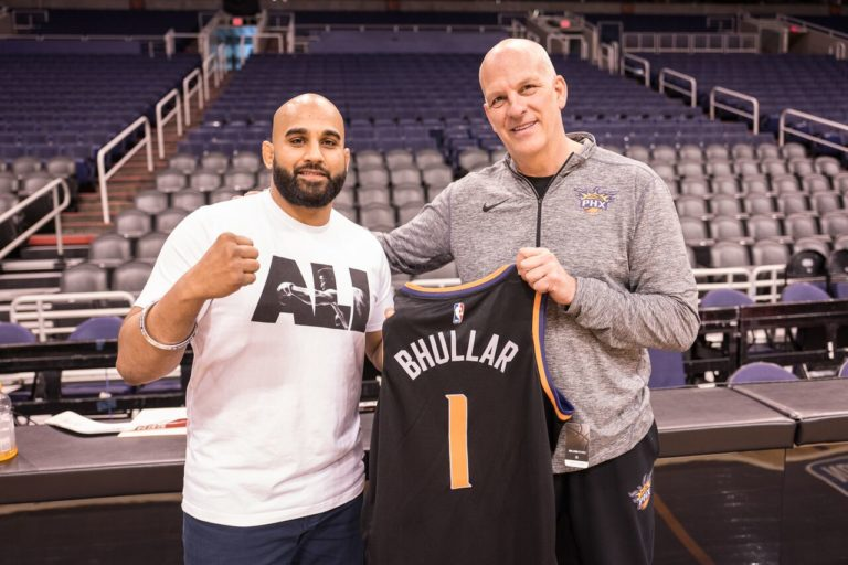 MMA India Exclusive: Arjan Singh Bhullar explains why he is wearing a turban out to his next fight at UFC Glendale, does media rounds in Arizona promoting it