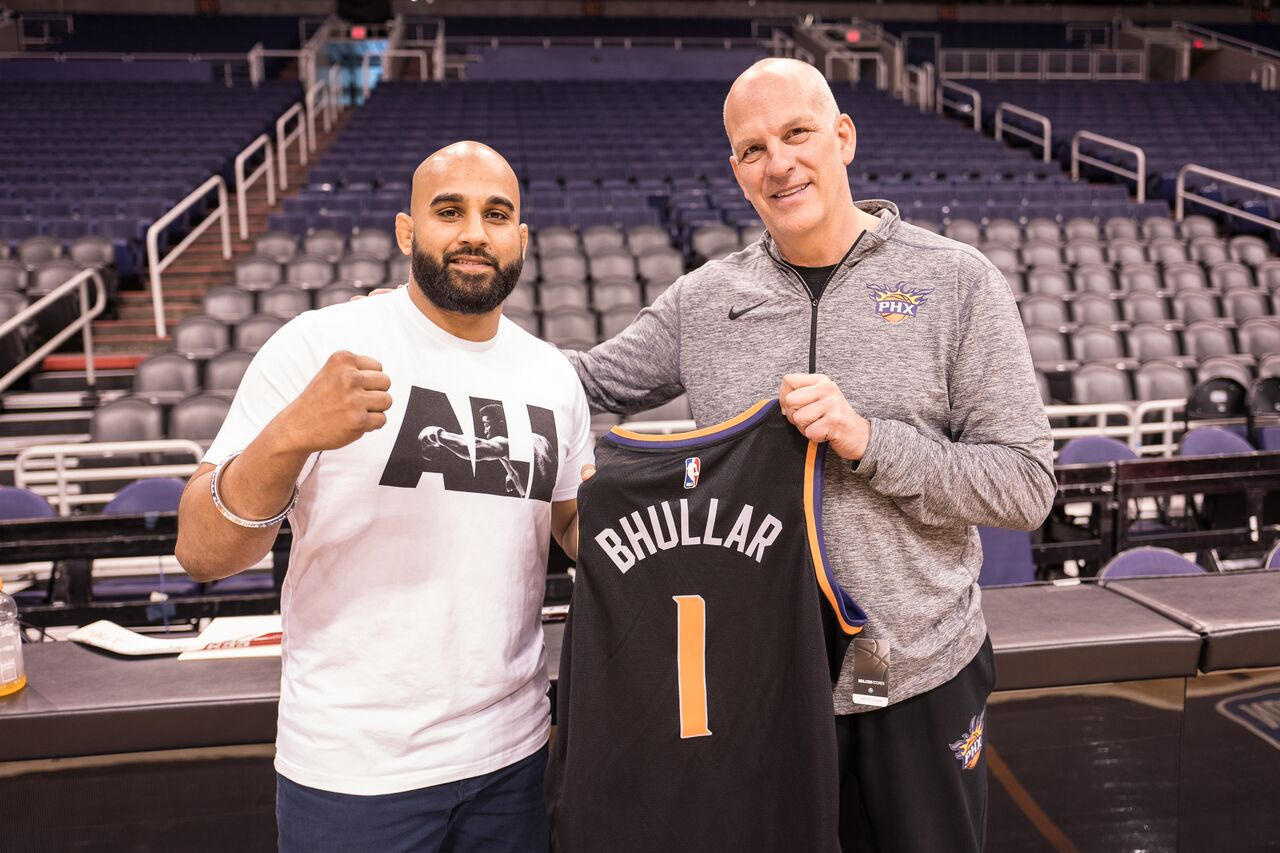MMA India Exclusive: Arjan Singh Bhullar explains why he is wearing a turban out to his next fight at UFC Glendale, does media rounds in Arizona promoting it - Bhullar