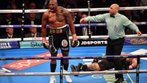 Boxing: Dillian Whyte brutally knocks out Lucas Browne unconscious - Dillian