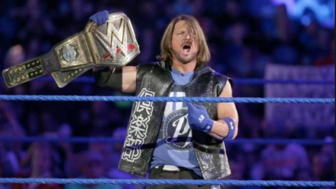 WWE: AJ Styles says he's not the best wrestler in the world - AJ Styles