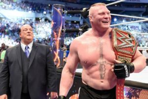 WWE: Paul Heyman claims that Brock Lesnar is genuinely interested in returning to the UFC - Brock Lesnar