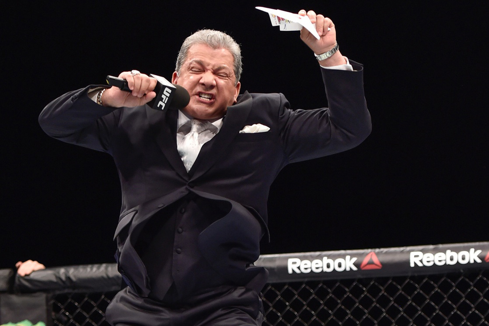 UFC: Bruce Buffer soon to release a new song with Steve Aoki - Bruce Buffer