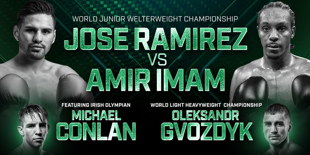 Boxing: Jose Ramirez Takes on Amir Imam in Historic Title Bout - New York