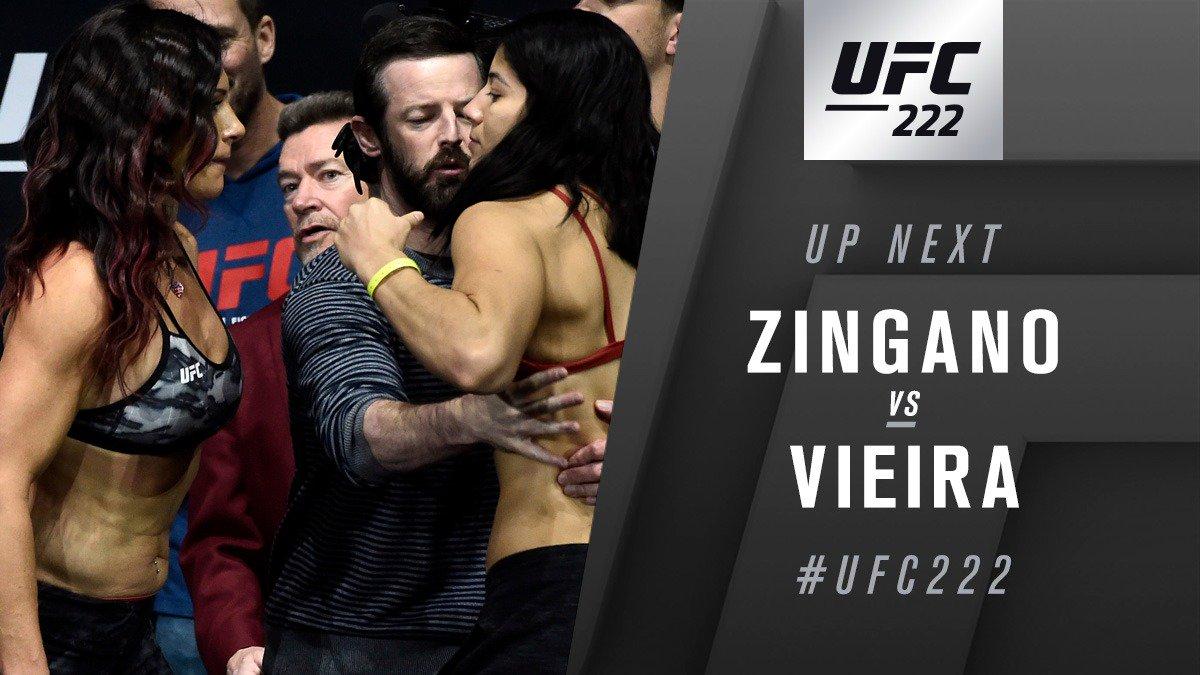 UFC 222 Results: Ketlen Vieira defeats Cat Zingao Via Split Decision -