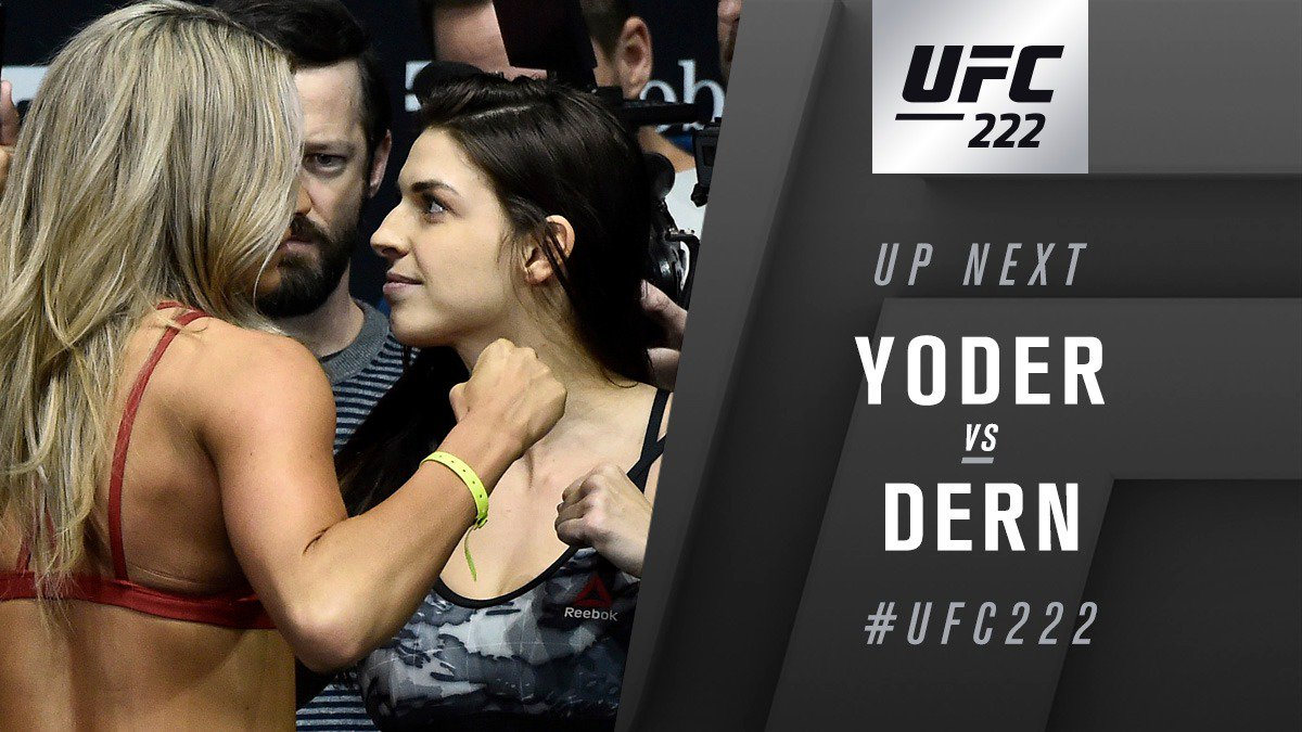 UFC 222 Play by Play Updates & Live Results -