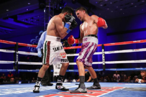 Boxing: Jesus Martinez and Alejandro Santiago battle to second consecutive draw - Martinez