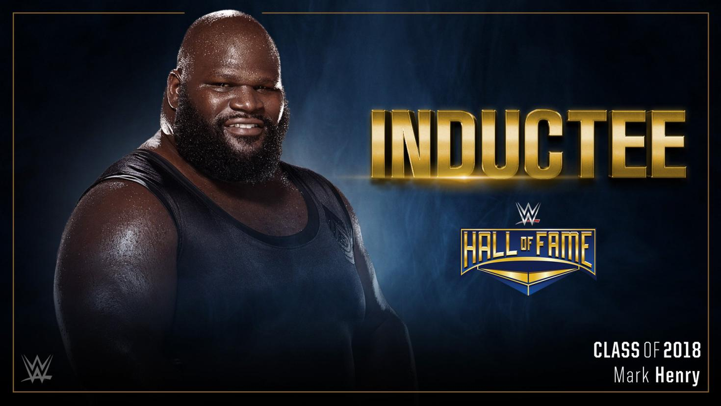WWE: Several Superstars React to Mark Henry's Induction into the Hall of Fame. - Mark Henry