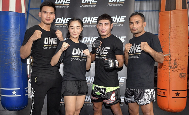 THAI MARTIAL ARTS SUPERSTARS GRACE OPEN WORKOUT FOR ONE: IRON WILL -