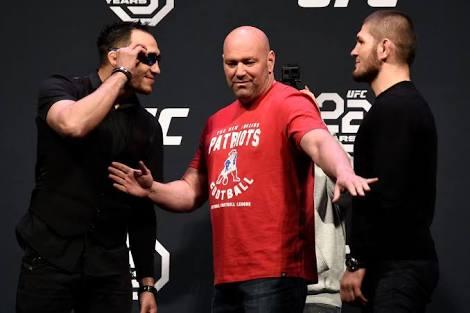 UFC:Khabib Nurmagomedov reportedly getting paid 4 times as much money as Tony Ferguson - Khabib Nurmagomedov