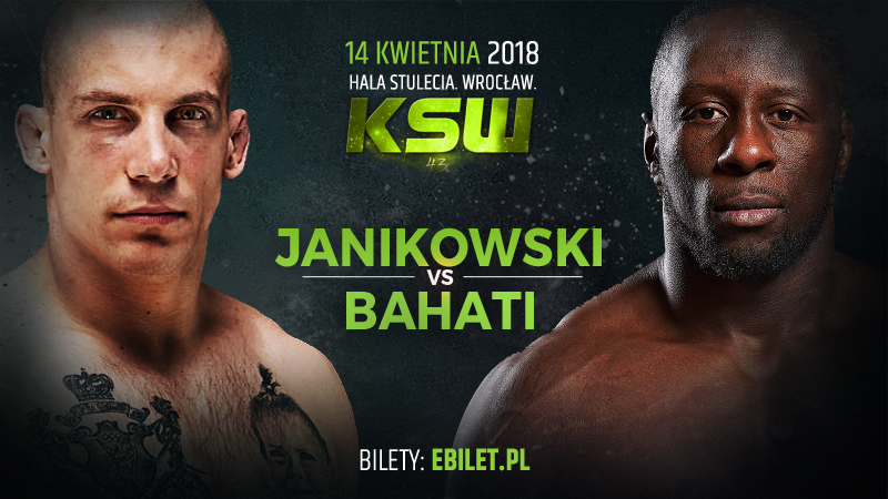 Damian Janikowski vs. Yannick Bahati set for KSW 43 main event -