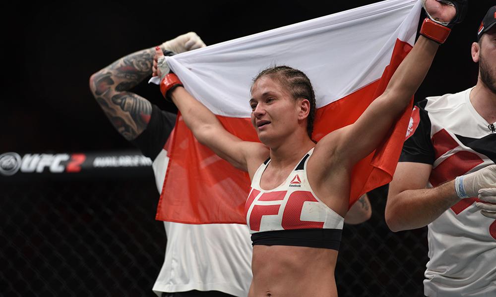 UFC: Karolina Kowalkiewicz dreams of finishing Felice Herrig at UFC 223 - UFC 223
