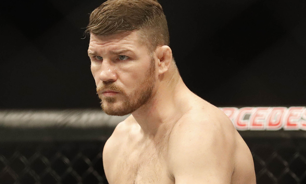 UFC: Michael Bisping reveals that he suffered a major injury prior to the fight against GSP - Michael bisping