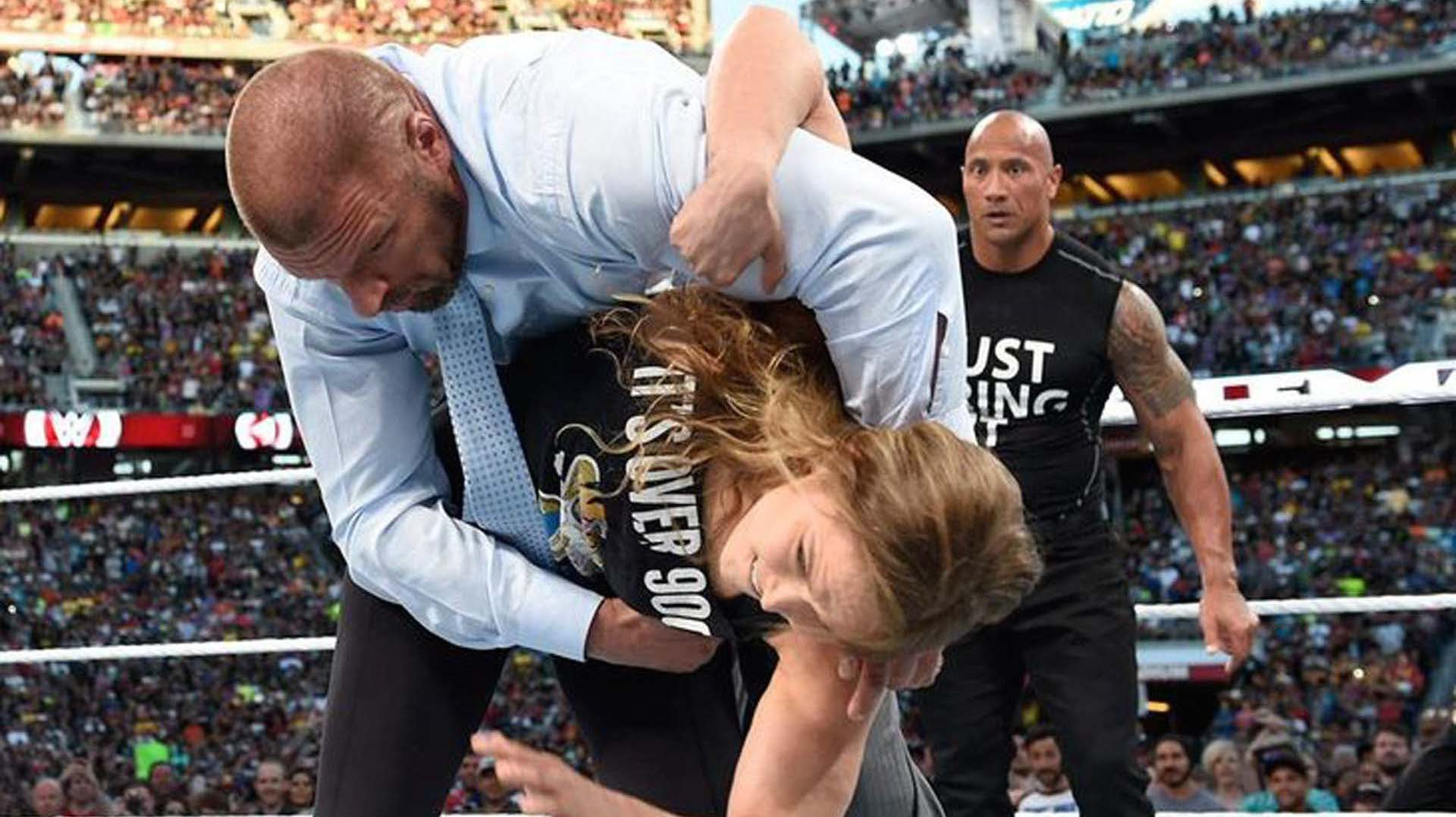 WWE: Triple H is excited to be a part of Ronda Rousey's in-ring debut. - Triple H