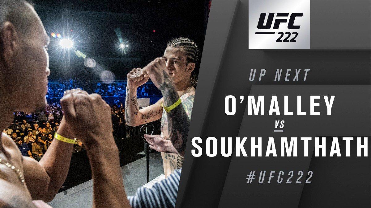 UFC 222 Results: Sean Defeats Andre Via Unanimous Decision -