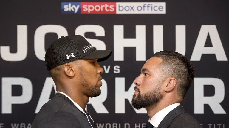 Boxing: Anthony Joshua fires back at critics - Joshua