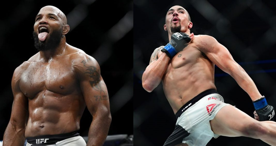 UFC:Robert Whittaker vs Yoel Romero set for UFC 225 in Chicago,Whittaker gives his prediction regarding the fight - UFC 225