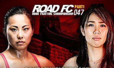 ROAD FC 047 RETURNS TO BEIJING, CHINA WOMEN'S BANTAMWEIGHT MATCH: RAMONA PASCUAL VS KUMAGAI MARINA -