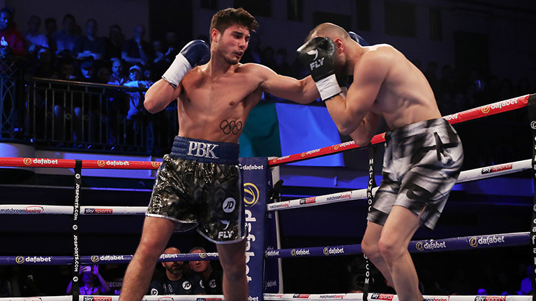 Boxing: Josh Kelly has big plans for future - Kelly