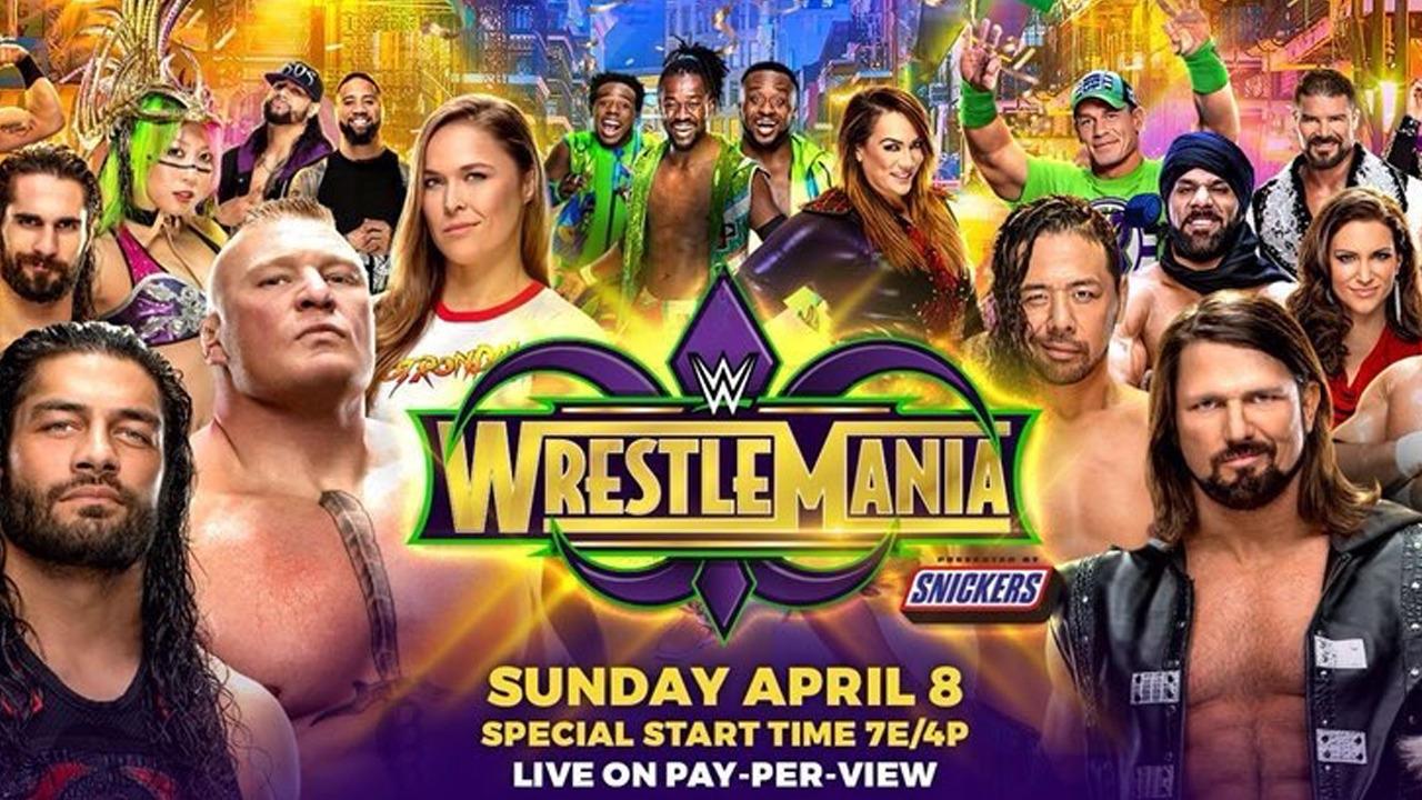 WWE: Kick-off Matches for WrestleMania 34 revealed - WrestleMania