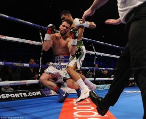 Boxing: Amir Khan knocks out Phil Lo Greco in 40 Seconds (VIDEO) - Khan knocks out Phil LoGreco