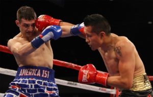 Boxing: Boxer Wearing 'America 1st' Shorts Gets Pounded By Mexican Opponent(VIDEO) - Salka