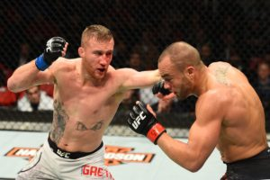UFC: Justin Gaethje slams James Vick - justin gaethje