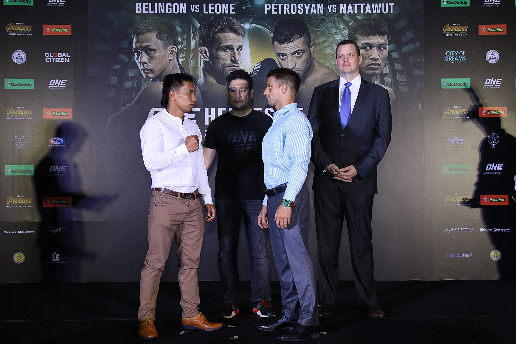 ONE Championship Kicks Off ONE: HEROES OF HONOR in Manila with Press Conference -