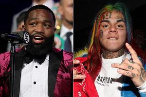 Boxing: Adrien Broner threatens rapper 6ix9ine - 6ix9ine