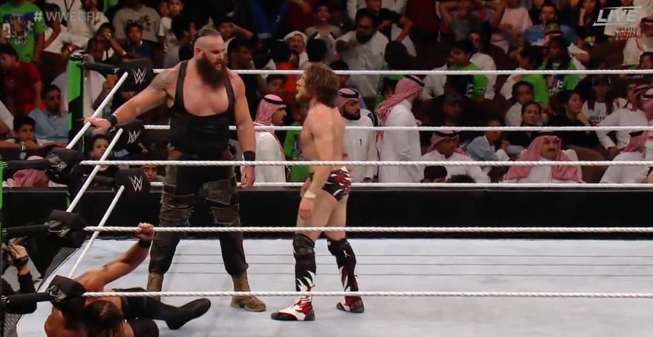 WWE: Braun Strowman and Daniel Bryan break Royal Rumble records - Braun Strowman