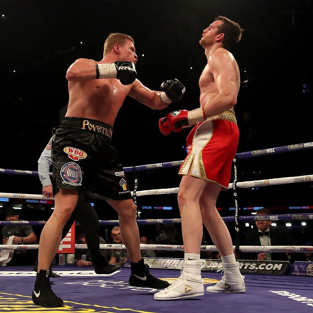 Boxing: Alexander Povetkin brutally knocks out David Price(VIDEO) - Povetkin