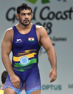 Sushil Kumar wins GOLD for India in Commonwealth Games,2018 - Sushil