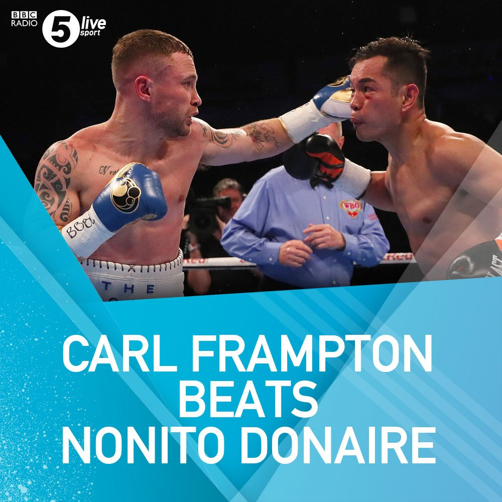 Boxing: Carl Frampton claims unanimous points victory over Nonito Donaire - Frampton