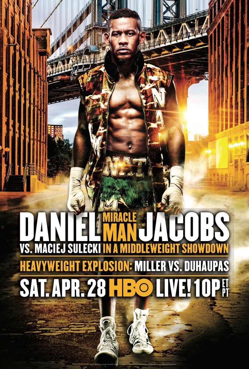Boxing: Daniel Jacobs vs Maciej Sulecki Preview - Jacobs