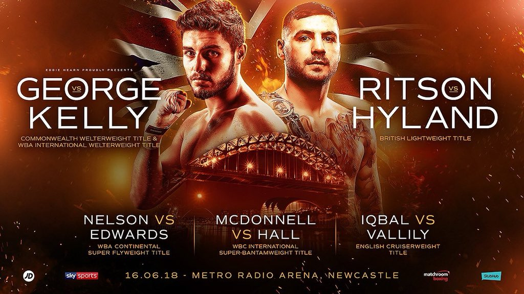 Boxing: Josh Kelly and Lewis Ritson Co-headline Sky Sports Boxing card - Ritson