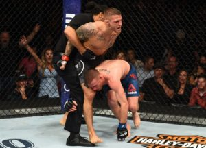 UFC: Dustin Poirier shows off badly bruised leg after war with Justin Gaethje - Dustin Poirier